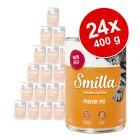 Varčno pakiranje Smilla perutninski lonček 24 x 400 g