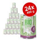 Varčno pakiranje zooplus Bio Kitten 24 x 400 g