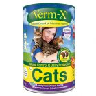 Verm-X Crunchies snacks para higiene intestinal dos gatos