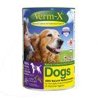 Verm-X Crunchies snacks para higiene intestinal para perros