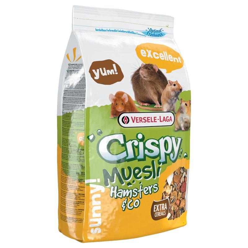 Versele-Laga Crispy Müsli Hamsters & Co