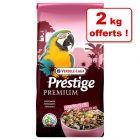 Versele-Laga Prestige 13 kg pour perroquet + 2 kg offerts !