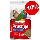 Versele-Laga Prestige pour oiseaux exotiques : 10 % de remise !