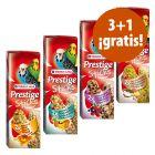 Versele-Laga Prestige Sticks para periquitos en oferta: 3 + 1 ¡gratis!