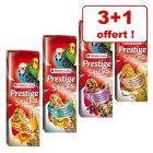 Versele-Laga Prestige Sticks pour perruche 3 + 1 sachet offert !