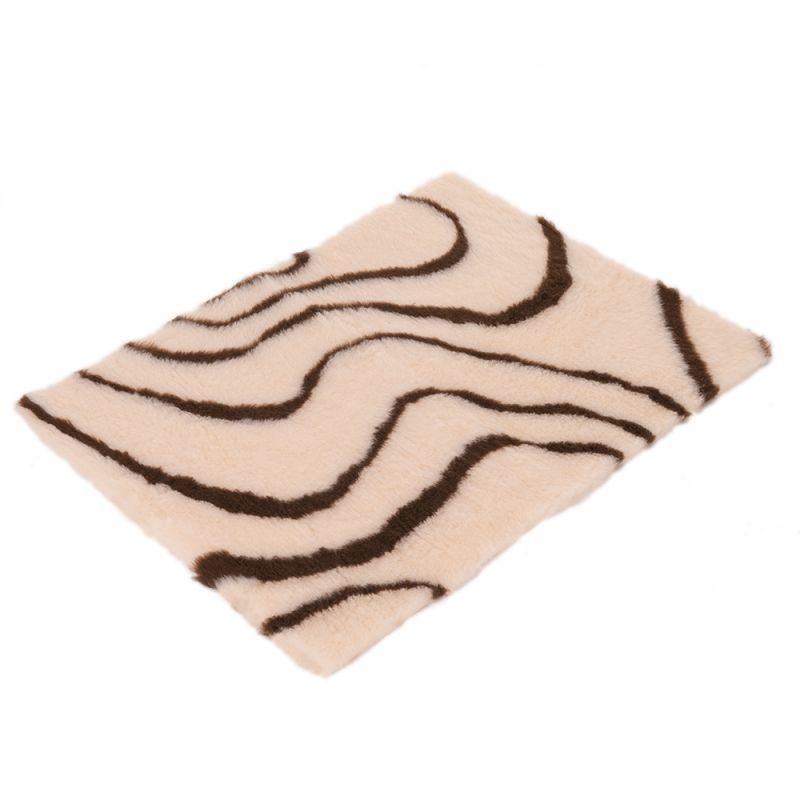 Vetbed® Isobed SL Wave Pătură pentru câini, crem/maro