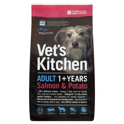 Vets Kitchen Adult Salmon Potato Dry Dog Food