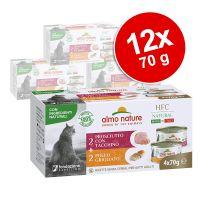 Výhodné balení Almo Nature HFC Made in Italy 12 x 70 g