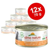 Výhodné balení Almo Nature HFC Natural Made in Italy 12 x 70 g