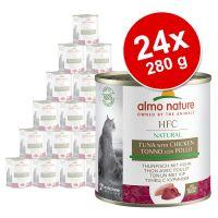 Výhodné balení Almo Nature HFC Natural 24 x 280 g