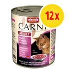 Výhodné balení Animonda Carny Adult 12 x 800 g