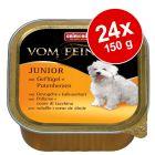 Výhodné balení Animonda vom Feinsten Junior, 24 x 150 g