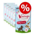 Výhodné balení Feringa Kitten Milky Snacks 6 x 30 g