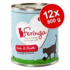 Výhodné balení Feringa Menu Duo - dvě příchutě 12 x 800 g