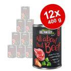 Výhodné balení Greenwoods Adult 12 x 400 g