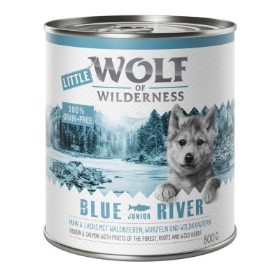 Výhodné balení: Little Wolf of Wilderness Junior 12 x 800 g