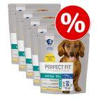 Výhodné balení Perfect Fit krmivo pro psy 5 x 1,4 kg
