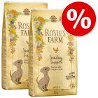 Výhodné balení Rosie's Farm 2 x 12 kg