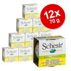 Výhodné balení: Schesir ve vývaru 12 x 70 g
