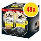 Výhodné balení Sheba Perfect Portions 48 x 37,5 g