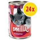 Výhodné balení: Smilla hovězí konzerva 24 x 400 g