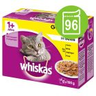Výhodné balení Whiskas 1+ kapsičky 96 x 100 g