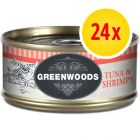 Výhodné balení: 24 x 70 g Greenwoods  Adult