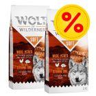 """Výhodné balení: 2 x 12 kg Wolf of Wilderness Adult """"Soft & Strong"""""""