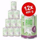 Výhodné balení zooplus Bio Kitten 12 x 400 g