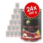 Výhodné balení zooplus Selection 24 x 400 g za skvělou cenu!