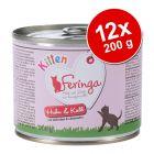 Výhodné balenie Feringa Kitten 12 x 200 g