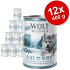 Výhodné balenie Little Wolf of Wilderness Junior 12 x 400 g