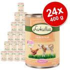 Výhodné balenie Lukullus Junior 24 x 400 g