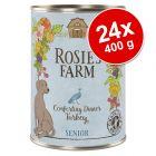 Výhodné balenie Rosie's Farm Senior 24 x 400 g