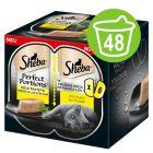 Výhodné balenie Sheba Perfect Portions 48 x 37,5 g