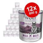 Výhodné balenie Wolf of Wilderness Senior 12 x 800 g