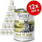 Výhodné balenie Wolf of Wilderness Senior 12 x 400 g