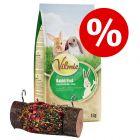 Vilmie gnaverfoder + JR Farm trærulle i prøvepakke!