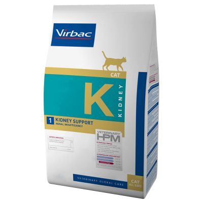 Virbac K1 Veterinary HPM Kidney Support para gatos