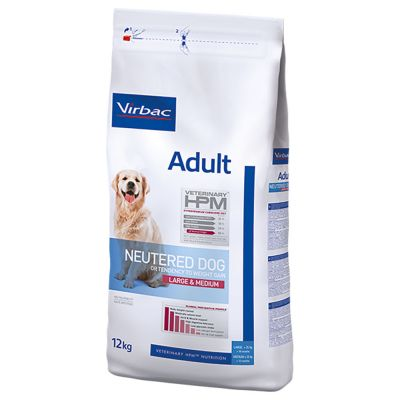 Virbac Veterinary HPM Adult Neutered Large & Medium pour chien