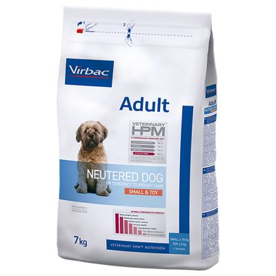 Virbac Veterinary HPM Adult Neutered Small & Toy para cães