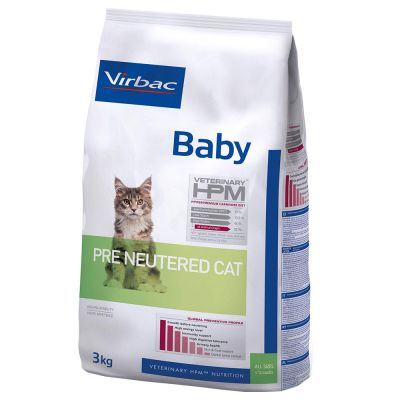 Virbac Veterinary HPM Baby Pre-Neutered pour chaton