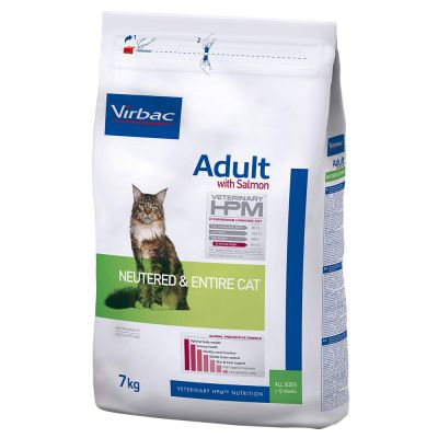 Virbac Veterinary HPM Cat Adult con salmón