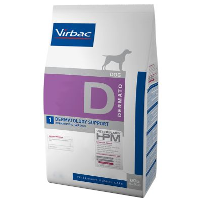 Virbac Veterinary HPM Dog Dermatology Support D1