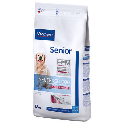 Virbac Veterinary HPM Dog Senior Neutered Large & Medium pour chien