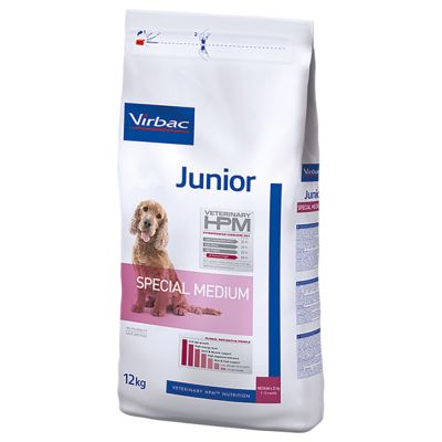Virbac Veterinary HPM Junior Special Medium pour chiot