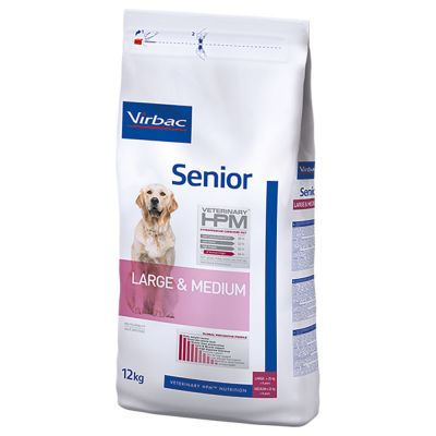 Virbac Veterinary HPM Senior Large & Medium pour chien
