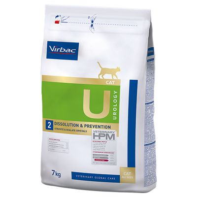 Virbac Veterinary HPM U2 Urology Dissolution & Prevention pour chat