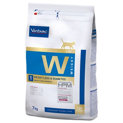 Virbac Veterinary HPM W1, Cat Weight Loss & Diabetes pour chat