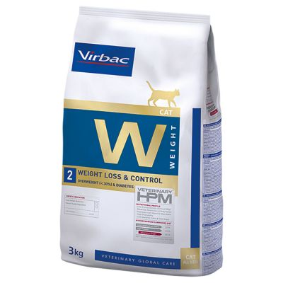 Virbac Veterinary HPM W2 Weight Loss and Control pour chat
